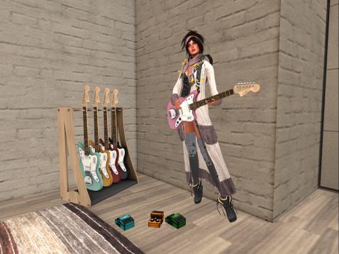 Guitar gal