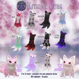 Darkend.Stare - Kitsune Cubs